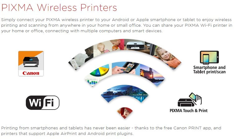 Canon PIXMA Printer App For Android | Pixma Printing Solutions